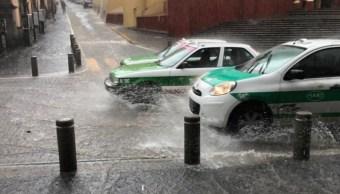 Lluvias en Veracruz.