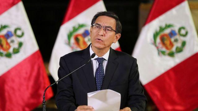 Foto: Martín Vizcarra, presidente de Perú. Reuters