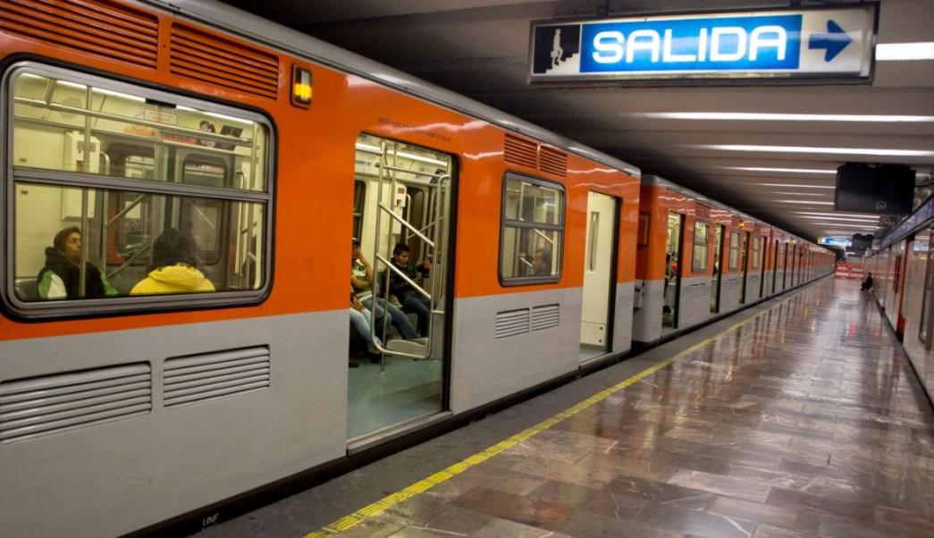 Foto: Estación Zócalo de la Línea 2 del Metro de la Ciudad de México. Cuartoscuro