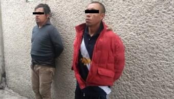 Foto: Presuntos implicados en el robo a la Casa de Moneda en la Ciudad de México. Noticieros Televisa