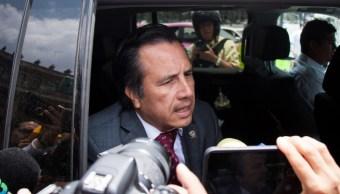 Cuitláhuac García, confirma orden de aprehensión contra Jorge Winckler