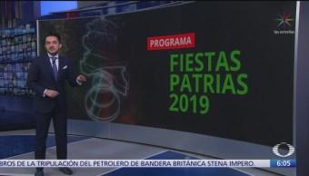 Gobierno federal anuncia programa de Fiestas Patrias
