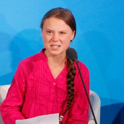 Greta Thunberg acusa a líderes mundiales de robarse sus sueños