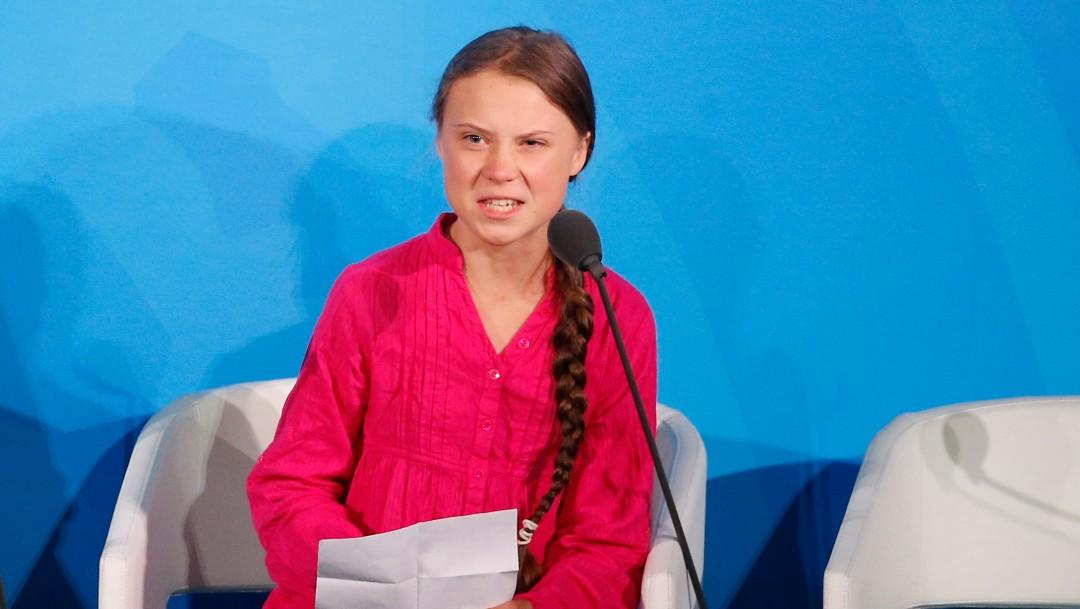 Foto: Greta Thunberg, 23 de septiembre de 2019, Nueva York