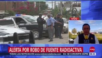 FOTO: Guanajuato se mantiene alerta por búsqueda de fuente radiactiva robada, 14 septiembre 2019