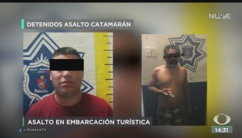 FOTO: Video Asalto Embarcación Turística Tabasco