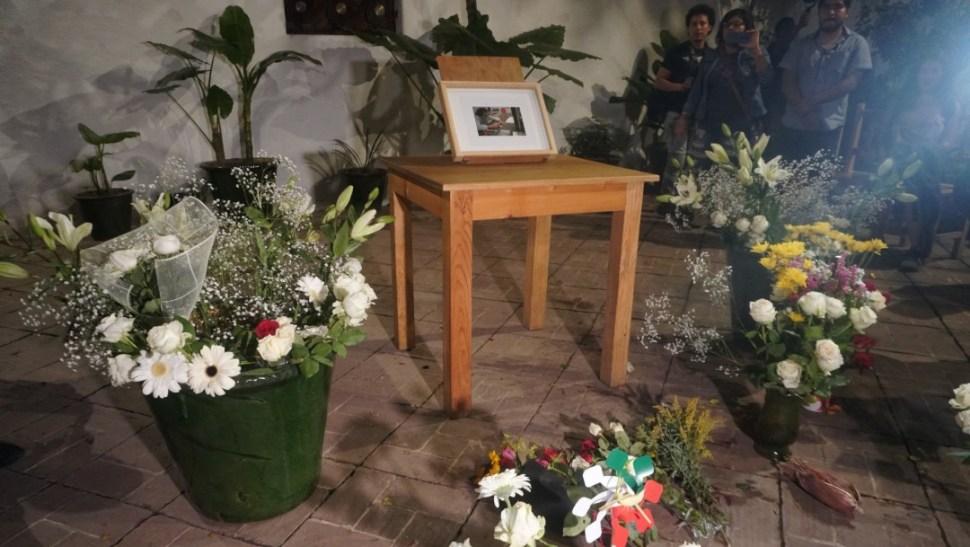 Foto: Homenaje a Francisco Toledo, 6 de septiembre de 2019, Oaxaca, México