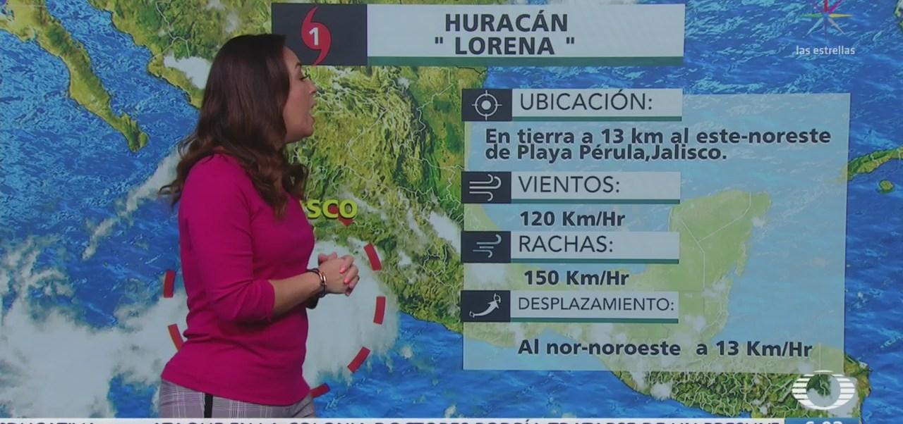 Huaracan 'Lorena' provocará lluvias en Jalisco y Colima