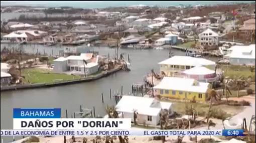 Huracán 'Dorian' deja 43 personas muertas en Las Bahamas