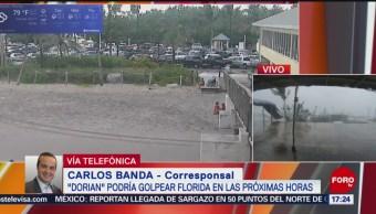 FOTO: Huracán Dorian Podría Golpear Florida Próximas Horas