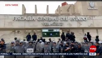 Foto: Jorge Winckler Manifiesta Comunicado Destitución Fiscalía Veracruz 3 Septiembre 2019