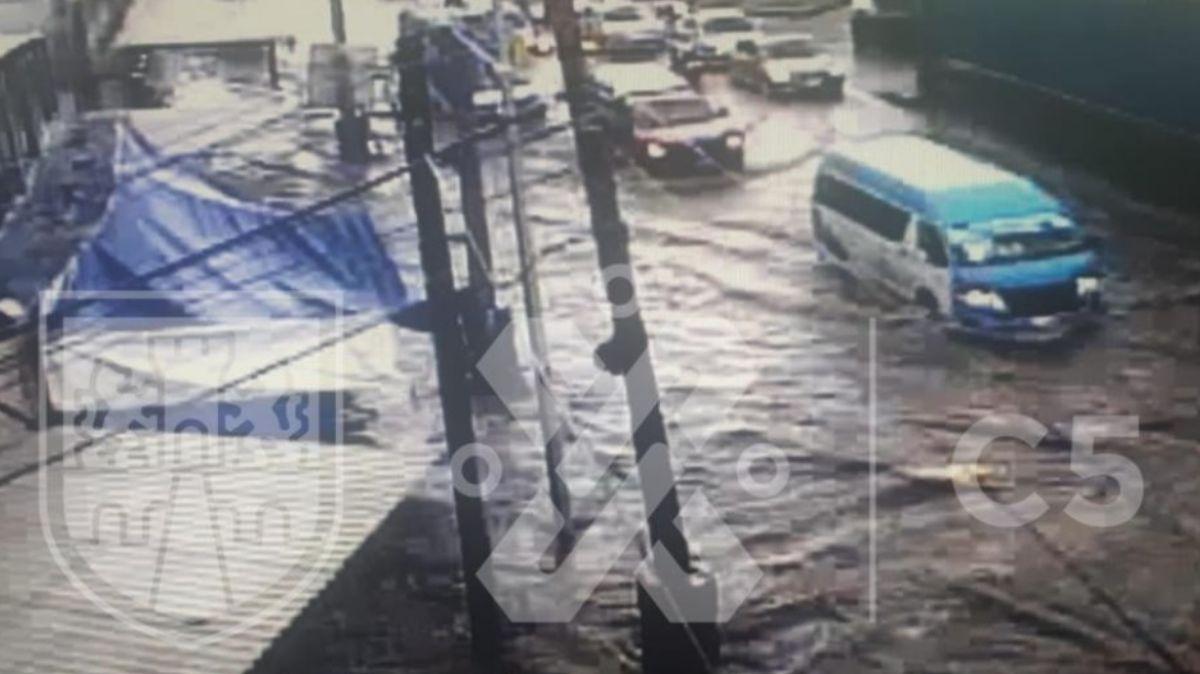 Inundación Calzada Zaragoza