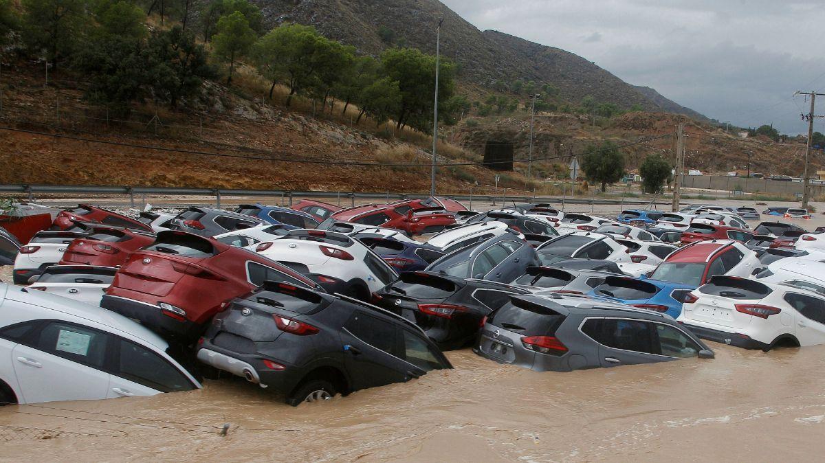 Inundación en España