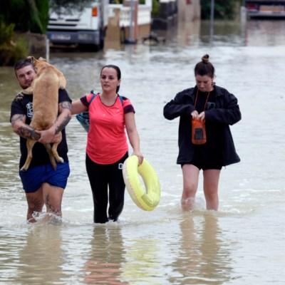 Aumentan a seis los muertos por las graves inundaciones en España