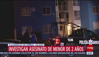 Investigan muerte de bebé de 2 años en Jalisco, los padres dicen que dejó de respirar