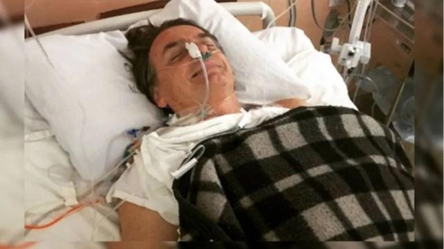El presidente de Brasil, Jair Bolsonaro internado en un hospital, 8 septiembre 2019