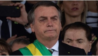 Imagen: El presidente Jair Bolsonaro ingresó el sábado al hospital para ser operado, 7 de septiembre de 2019 (EFE)
