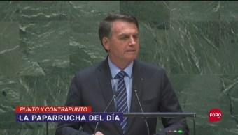 Foto: Jair Bolsonaro Niega Amazonia Pulmón Del Mundo 27 Septiembre 2019