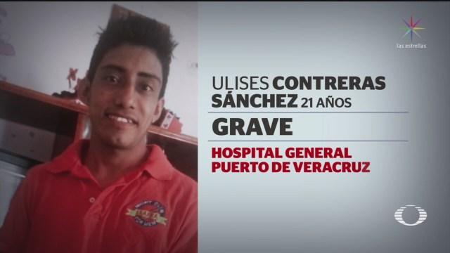 Foto: Sobreviviente Ataque Caballo Blanco Coatzacoalcos 3 Septiembre 2019