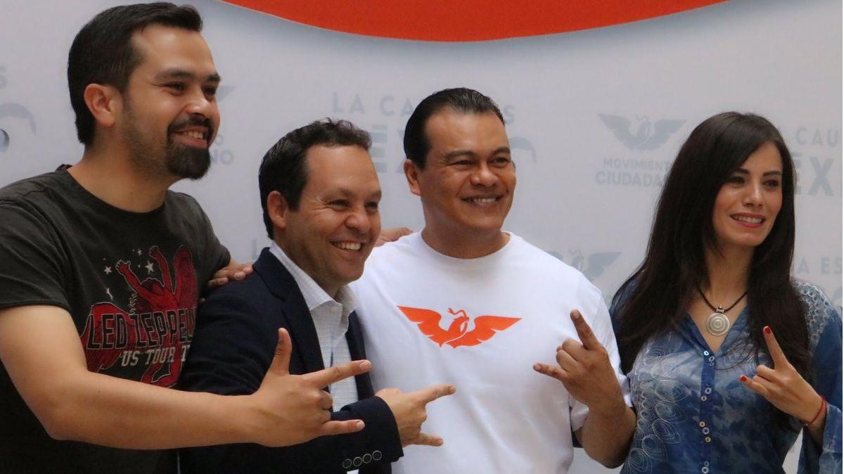 Juan Zepeda se integra a Movimiento Ciudadano