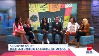 'Juntitas Tour' en Expreso de la Mañana