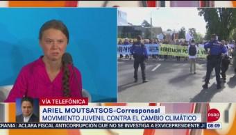 FOTO: La burla de Donald Trump contra la activista climática Greta Thunberg, 28 septiembre 2019