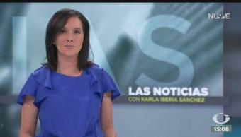 FOTO: Noticias Karla Iberia Programa Completo 5 Septiembre