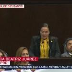 FOTO: Legisladores fijan postura ante entrega del Informe de AMLO, 1 septiembre 2019