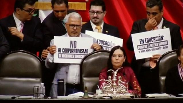 FOTO Leyes secundarias de la reforma educativa, ¿cuál es la polémica? (Noticieros Televisa)