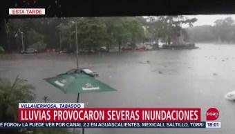 FOTO: Lluvias Provocan Severas Inundaciones Tabasco