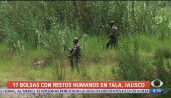 Localizan restos humanos en Jalisco