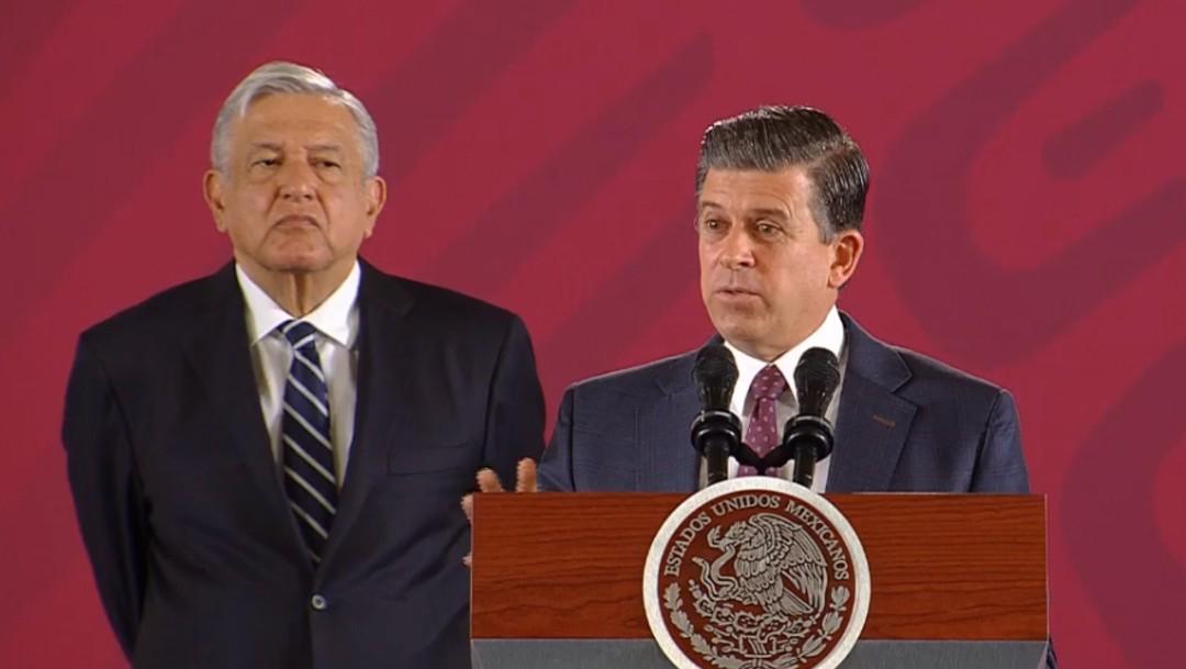 Foto: Andrés Manuel López Obrador y Ricardo Sheffield Padilla, 17 de septiembre de 2019, Ciudad de México