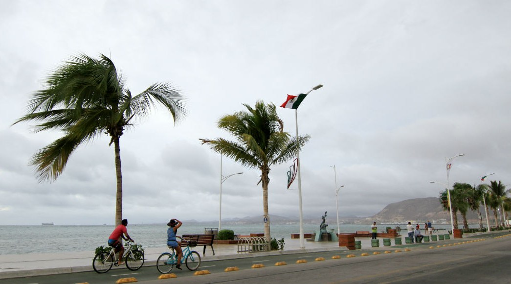 Foto: 'Lorena' se debilitó la tarde del sábado a tormenta tropical en el Mar de Cortés., 22 de septiembre de 2019 (Cuartoscuro)