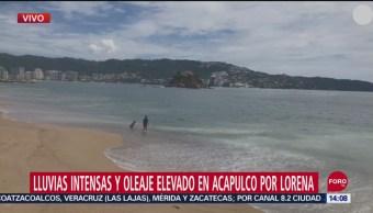 FOTO: Lorena Produce Lluvias Intensas Oleaje Elevado Acapulco