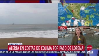 FOTO: Lorena Se Convertirá Huracán Categoría 1
