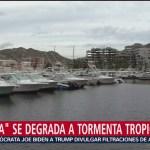 Foto: Huracán Lorena Degrada Tormenta Tropical 21 Septiembre 2019