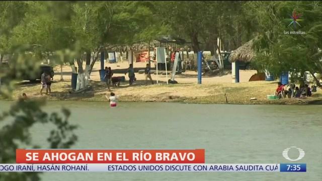 Madre migrante y su hijo mueren ahogados