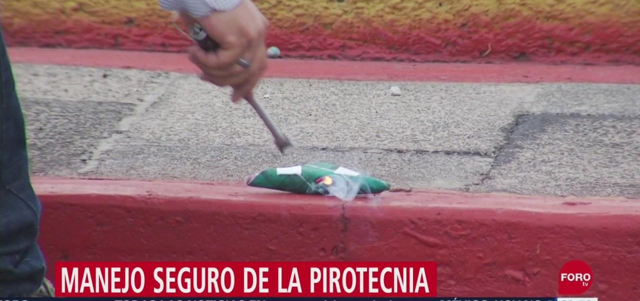 Foto: Manejo Seguro Pirotecnia 12 Septiembre 2019
