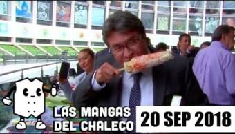 FOTO: Las Mangas del Chaleco: Los festejos patrios, los escándalos en el ISSSTE y las protestas