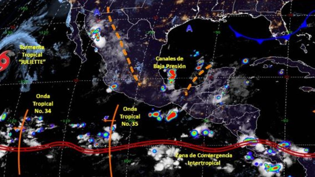 Foto: Imagen de fenómenos meteorológicos significativos de las 06:00 horas, 7 septiembre