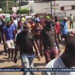 Foto: Migrantes Africanos Marchan Tapachula Chiapas 21 Septiembre 2019