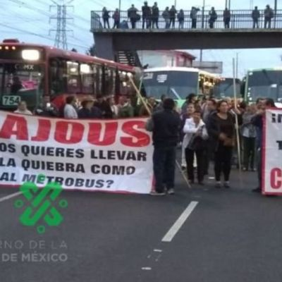 ¡Caos Vial!, transportistas marchan desde diferentes puntos de la CDMX al Zócalo