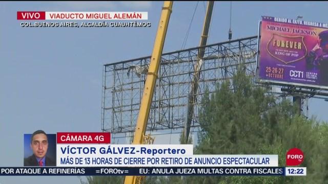 Foto: Gobierno CDMX Se Disculpa Por Demoras Retiro Espectacular Viaducto