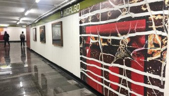 Visita la nueva exposición fotográfica en la estación Hidalgo del Metro