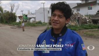 FOTO: Mexicano espacial desarrolla proyecto de drones de vigilancia, 13 SEPTIEMBRE 2019
