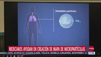 FOTO: Mexicanos Colaboran Creación Mapa Micropartículas