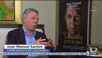 México y Colombia pueden compartir lecciones, dice Juan Manuel Santos