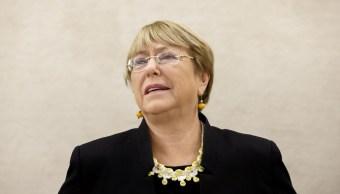 Políticas migratorias de México y EU son retrocesos, dice Michelle Bachelet