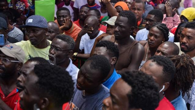 Imagen: El Instituto Nacional de Migración informó que los jueces únicamente otorgaron la suspensión para la no deportación de las personas extranjeras y no para el libre tránsito, 2 de septiembre de 2019 (Isabel Mateos/Cuartoscuro.com)