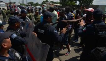 Foto: Al lugar llegaron elementos de la Guardia Nacional para restablecer el orden, 3 de septiembre de 2019 (Foto: Isabel Mateos /Cuartoscuro.com)